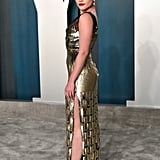 Florence Pugh at the Vanity Fair Oscars Afterparty 2020