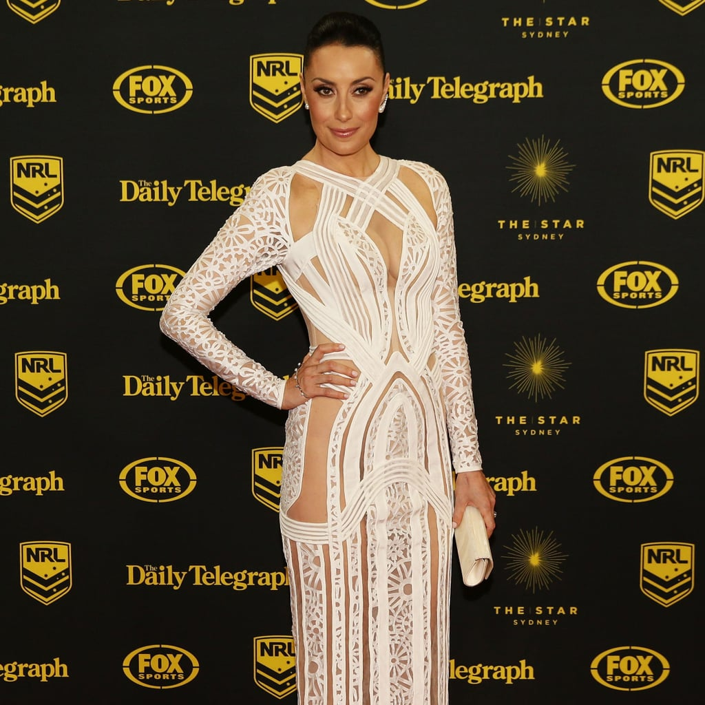 Live 2014 Dally M WAGS Red Carpet Dresses