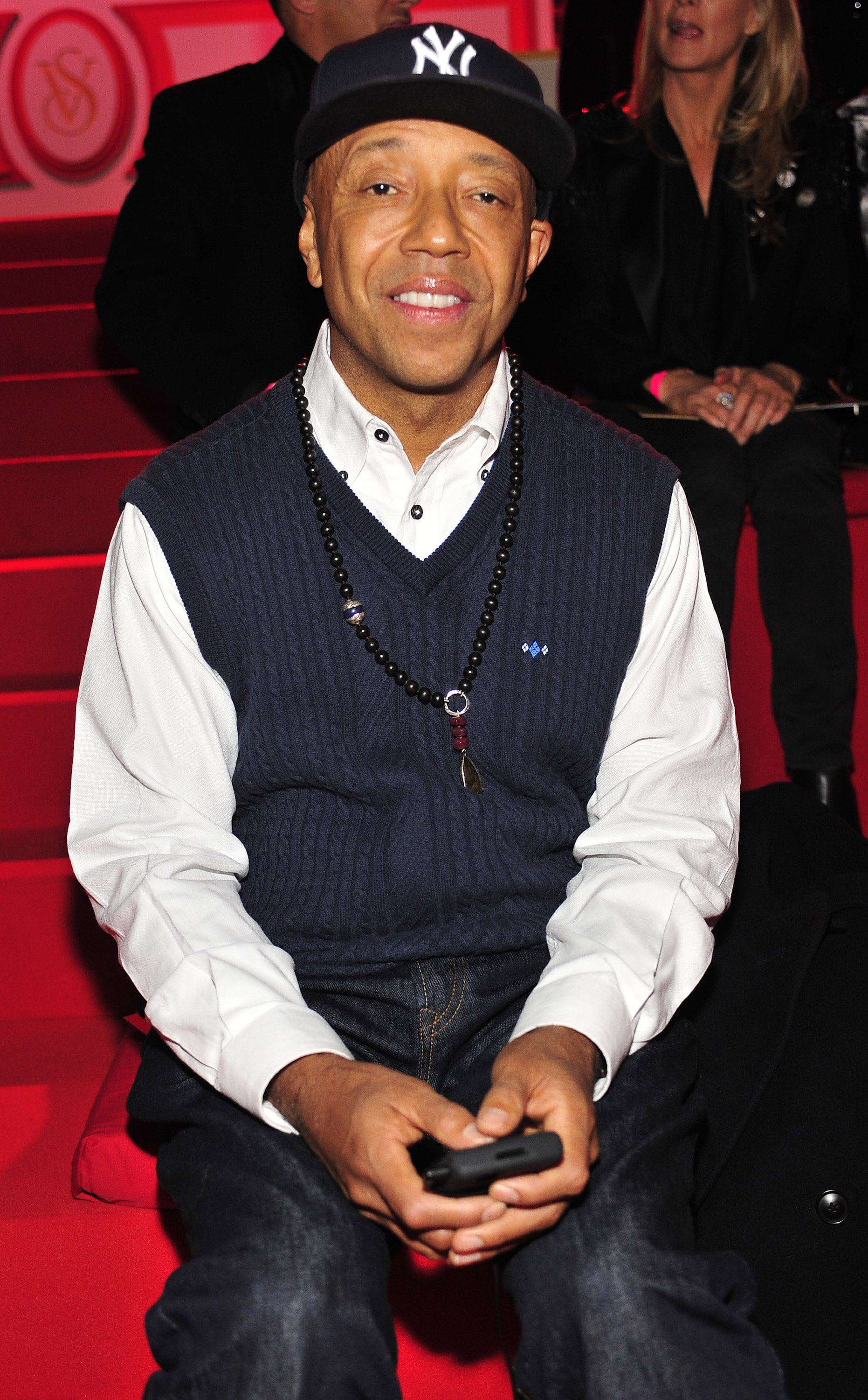 Longtime showgoer Russell Simmons took a front-row seat in 2010.