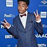 Miles Brown at the 2020 NAACP Image Awards Dinner