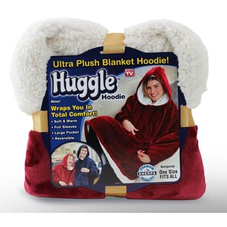 Huggle Hoodie Ultra Plush Blanket Hoodie