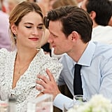 Lily James and Matt Smith