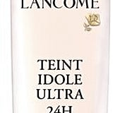 Lancome Teint Idole Ultra 24H Wear & Comfort Retouch Free Divine Perfection Makeup SPF 15 ($47), comes in 35 shades.