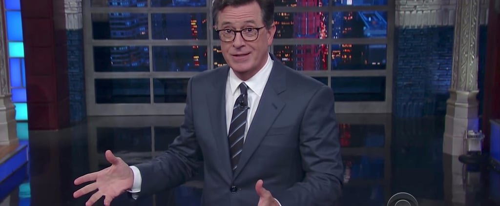 "Stephen Colbert Points Out Why It's Hard to Believe Trump: ""He Lies"""