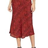 AFRM Brynne Print Midi Skirt