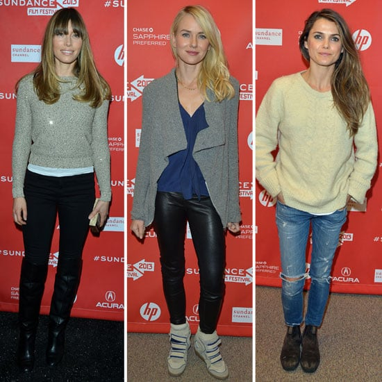 Jessica Biel, Naomi Watts and More Kick Off Sundance in (Cozy) Style