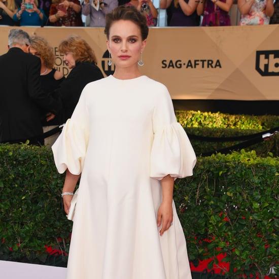 Natalie Portman's Dior Dress SAG Awards 2017