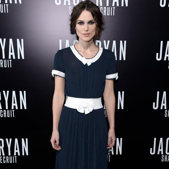 Keira Knightley Wearing Vintage Chanel Dress