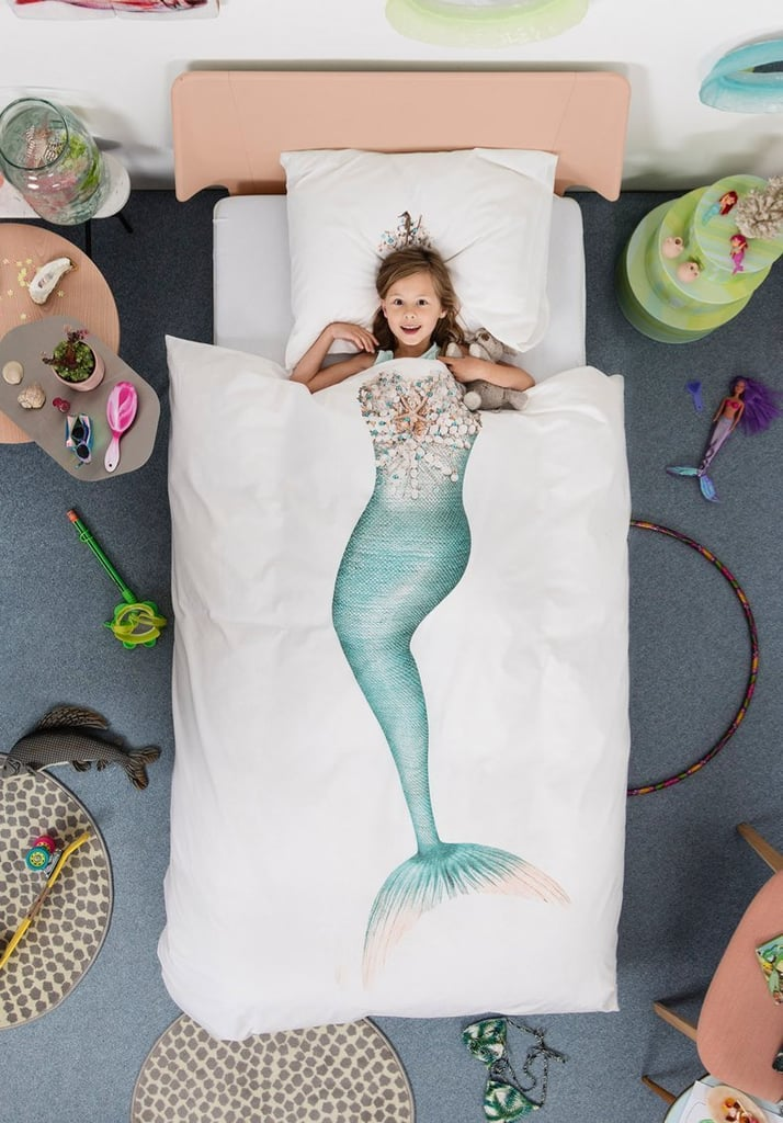 Snurk Mermaid Duvet Cover and Pillow Case Set For Kids