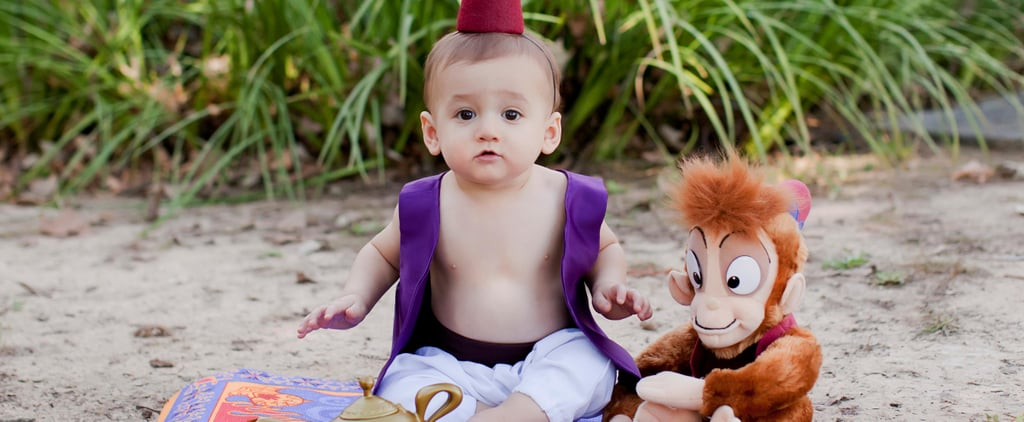 This 1-Year-Old's Adorable Disney Prince Photo Shoot Will Show You a Whole New World