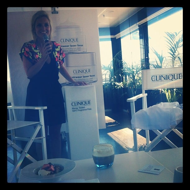 BellaSugar attended a pretty and informative launch for new Clinique product, Repairwear Laser Focus.