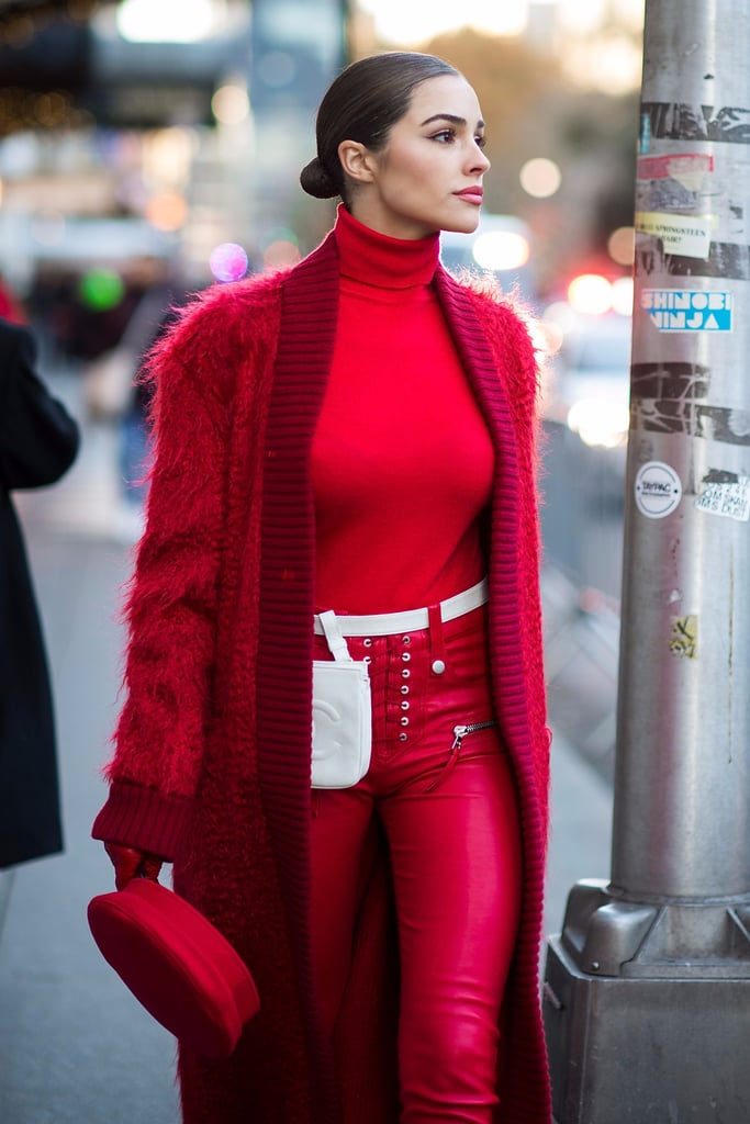 How to Pull Off All Red — Not Just Because It's the Holidays, but Because You Like It