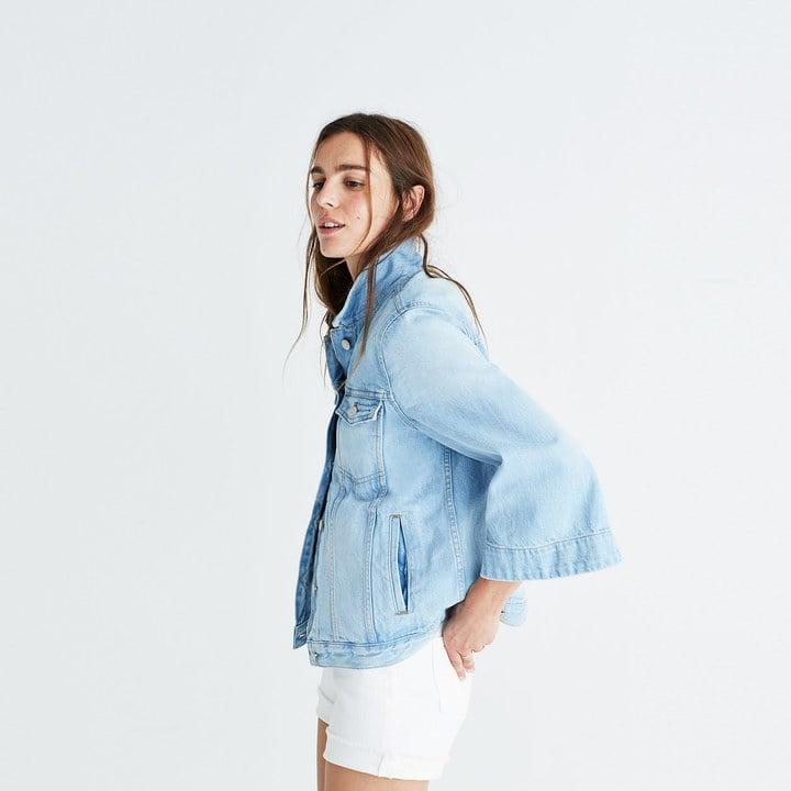 Madewell Bell Sleeve Jean Jacket