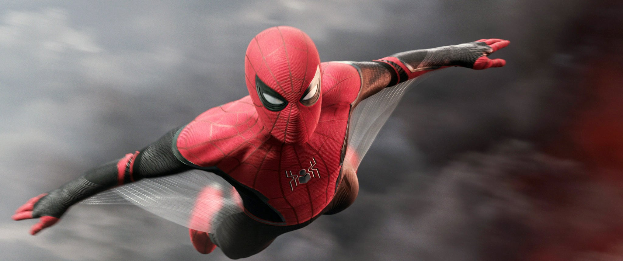 SPIDER-MAN: FAR FROM HOME, Tom Holland as Spider-Man / Peter Parker, 2019.  Columbia Pictures /  Marvel / courtesy Everett Collection