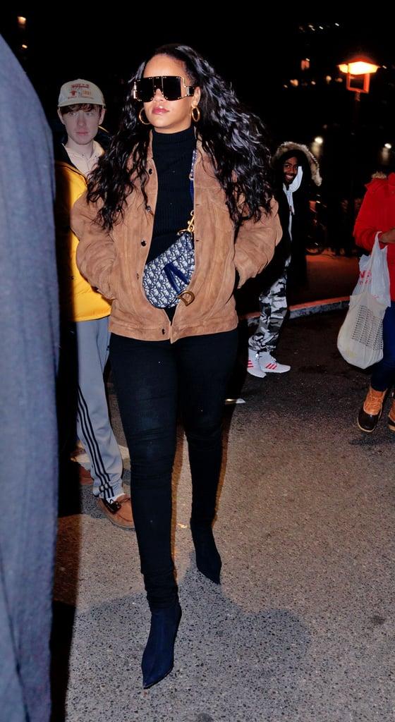 How to Wear Jeans: Rihanna