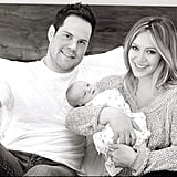 Hilary Duff's husband, hockey player Mike Comrie, became a first-time dad to baby boy Luca Cruz Comrie in March 2012.