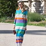 Horizontal Rainbow Stripes