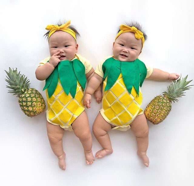 coordinating sibling costumes for halloween popsugar family