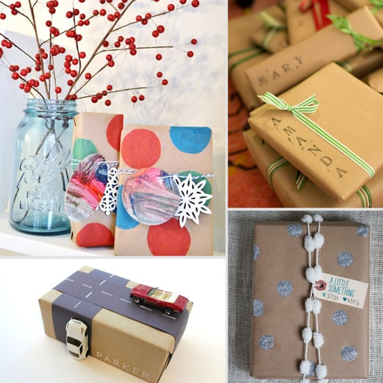 Cute Christmas Gift Wrap Ideas Popsugar Family