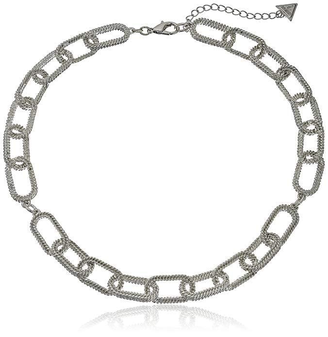 Guess Frozen Chain Silver Choker