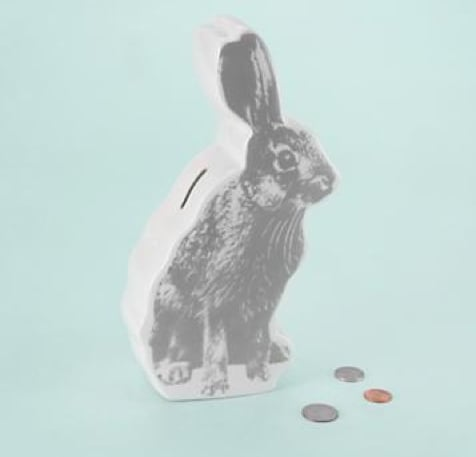 Put Your Munny in the Bunny Bank ($21)