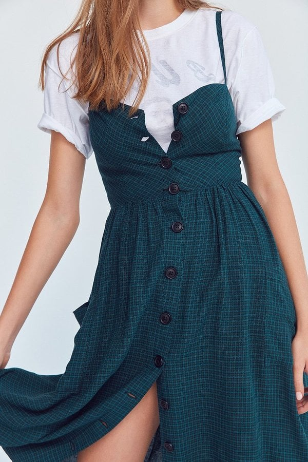 d4d79ccafe Cooperative Emilia Linen Button-Down Midi Dress | Fall Dresses From ...