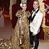 Pictured: Sarah Jessica Parker and Andy Cohen