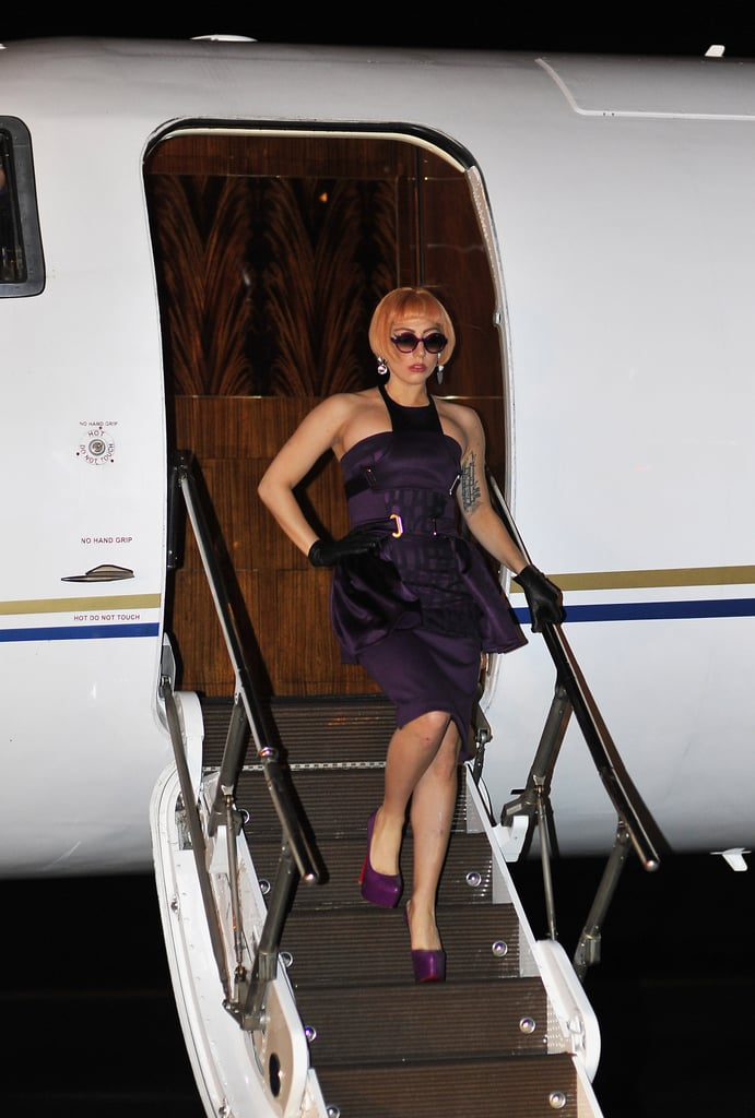 Lady Gaga touched down in Brisbane on June 11.