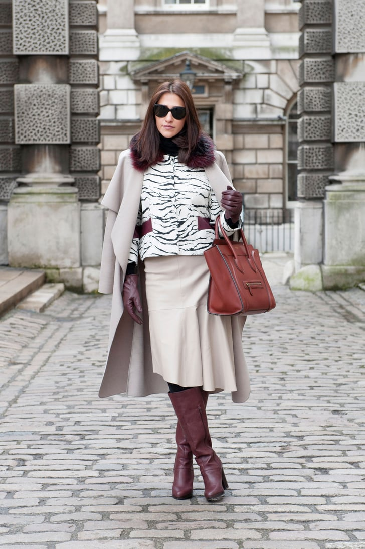 Lfw Street Style Day Two Best Street Style Fashion Week Fall 2015 Popsugar Fashion Photo 13