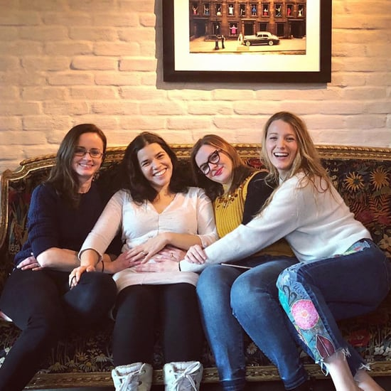 America Ferrera With Sisterhood of the Traveling Pants Cast