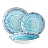 Sea Splash Turquoise Melamine Dinnerware