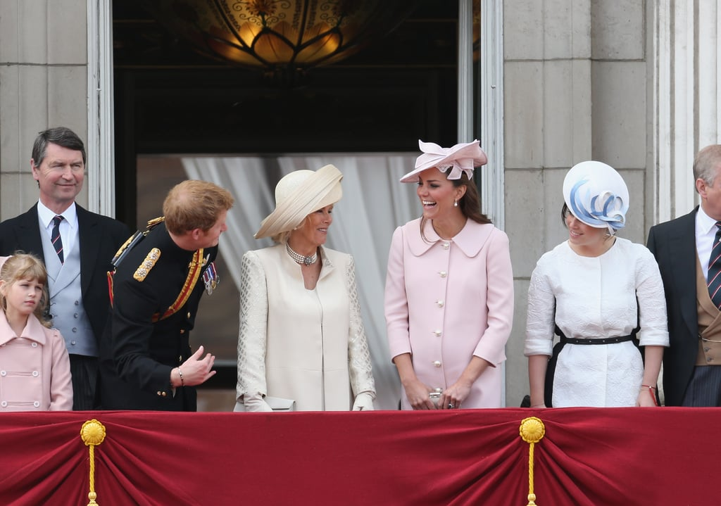 Harry , Kate, and Eugenie