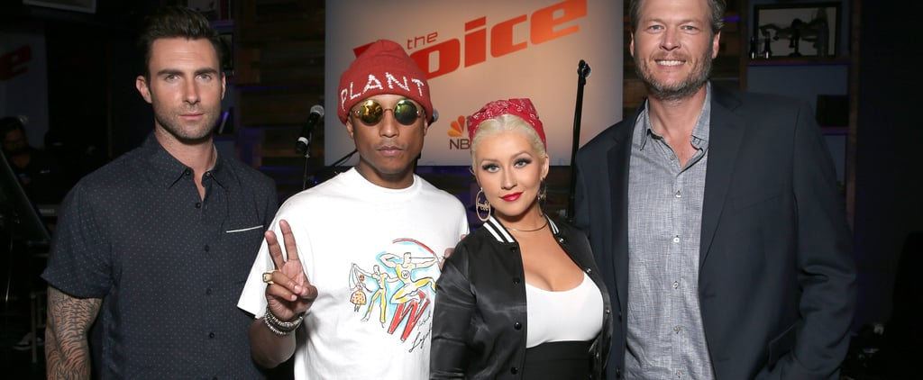 Christina Aguilera Talks About Being on The Voice May 2018