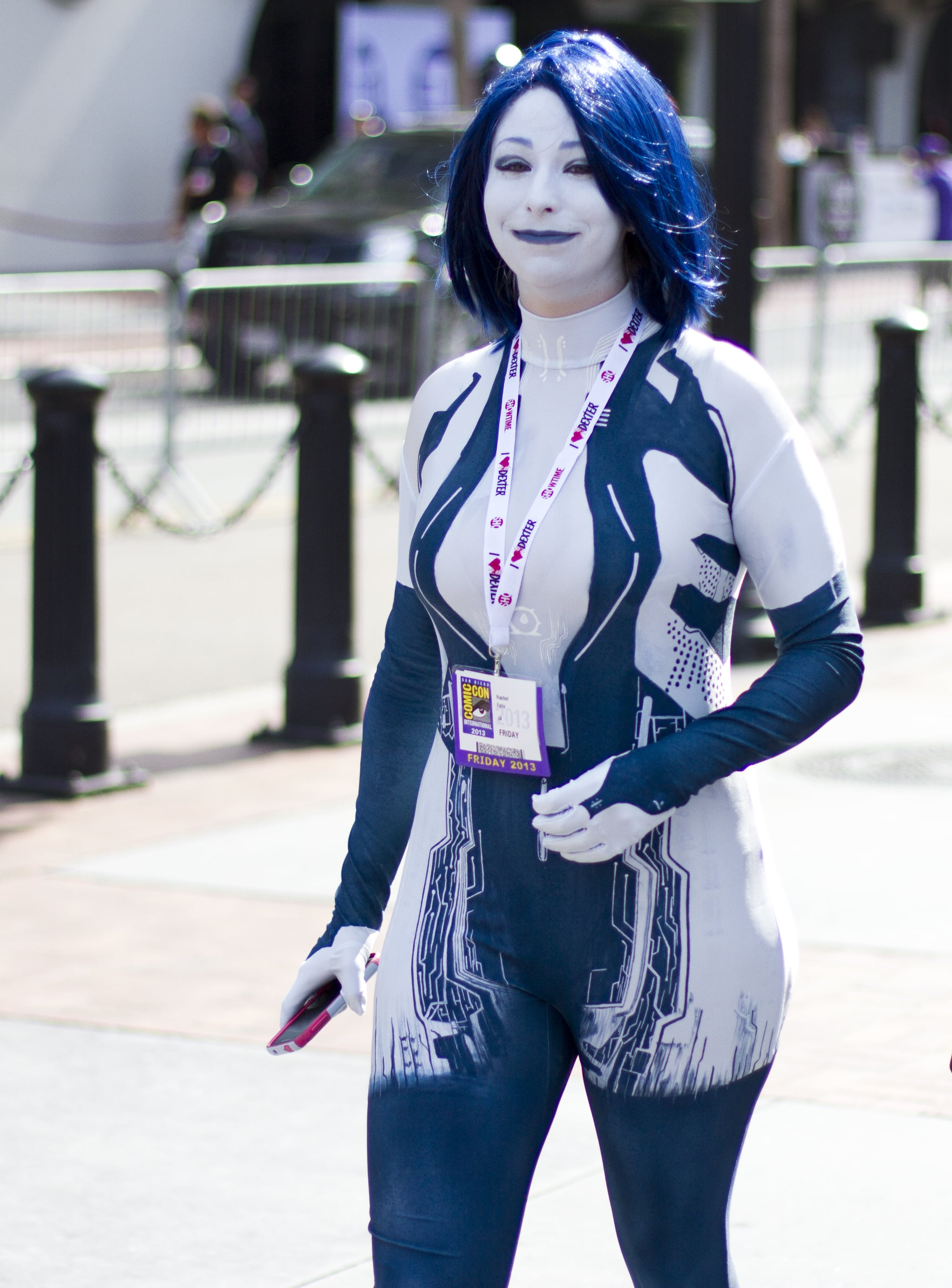 Cortana From Halo 39 Creative Costumes Inspired By Video