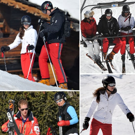 Kate Middleton Prince William Ski Vacation Pictures 2012
