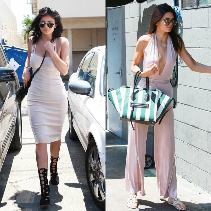 Kendall Jenner Jumpsuit Street Style Popsugar Fashion
