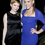 Busy Philipps and Michelle Williams palled around at a party hosted by Audi.