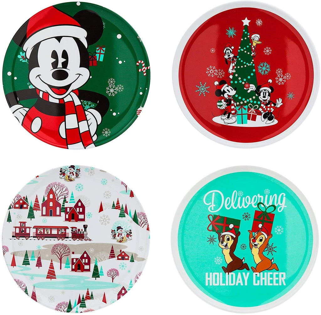 Disney Parks Santa Mickey Mouse And Friends Holiday Christmas Tree Skirt Home Garden Other Home Garden