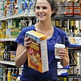 Keri Russell stopped to pick up groceries in NYC.