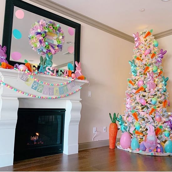 These Easter Christmas Trees Are So Bright and Colorful