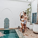 Sexy Moroccan Pool Couples Photo Shoot