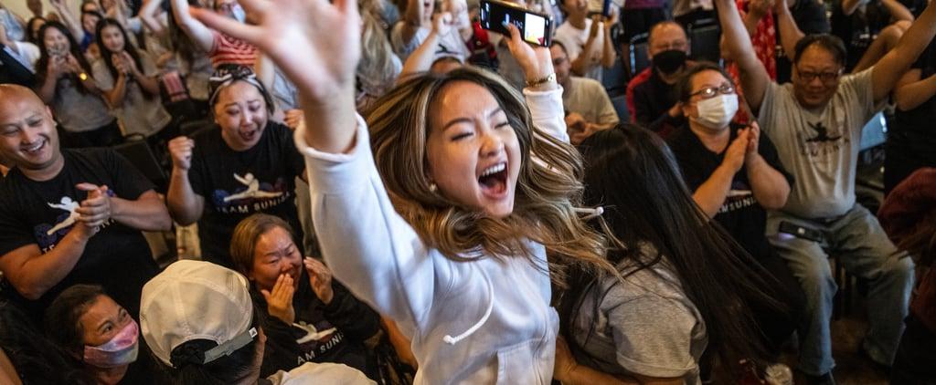 Watch Olympians' Family & Friends's Heartwarming Reactions