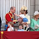 Royal Family at Trooping the Colour 2019 Pictures
