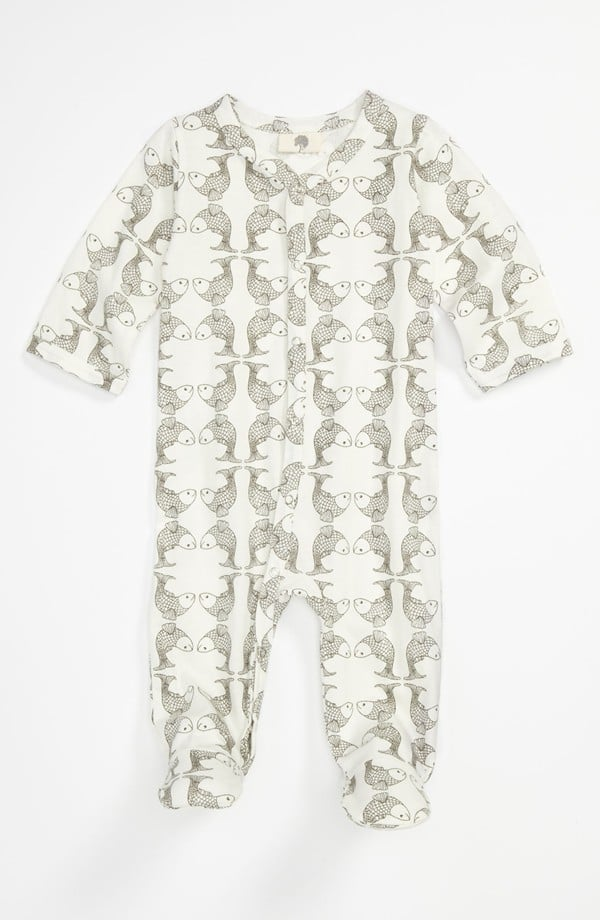 Keep it simple and eco-friendly in this organic footie ($36).