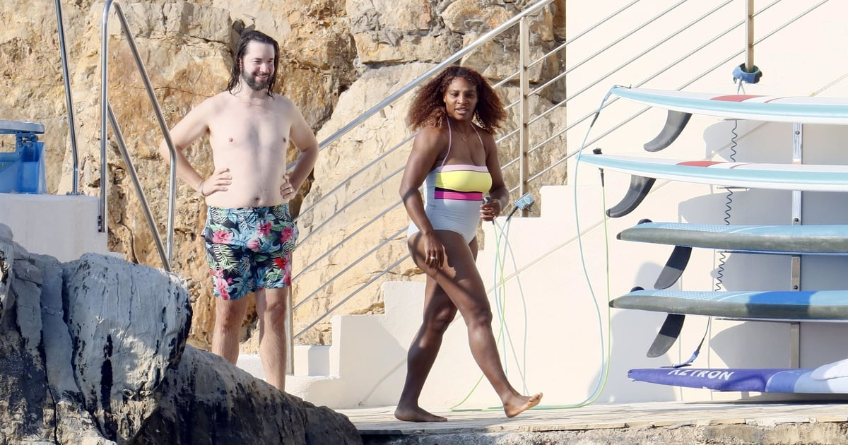 Serena Williams Makes a Splash Wearing This Colorful Swimsuit During Her Family Vacation.jpg