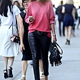 Sigh . . . Emmanuelle Alt makes chic look so damn easy.