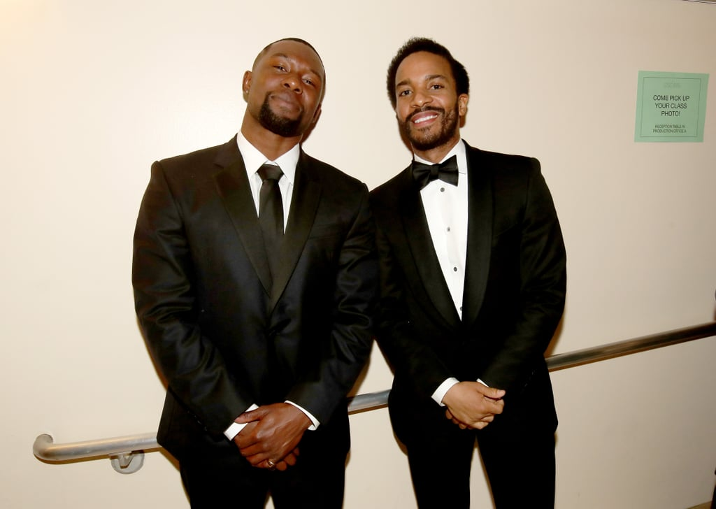 Pictured: Trevante Rhodes and Andre Holland