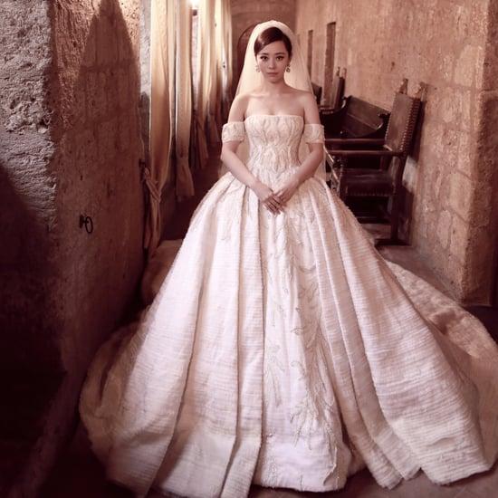 Jane Zhang's Tony Ward Couture Wedding Dress