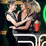 Brie Larson, Ingrid Kleinig, and Joanna Bennett at the 2019 MTV Movie and TV Awards