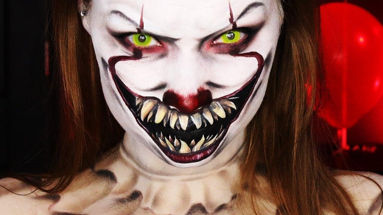 It Pennywise The Clown Makeup Tutorials Popsugar Beauty